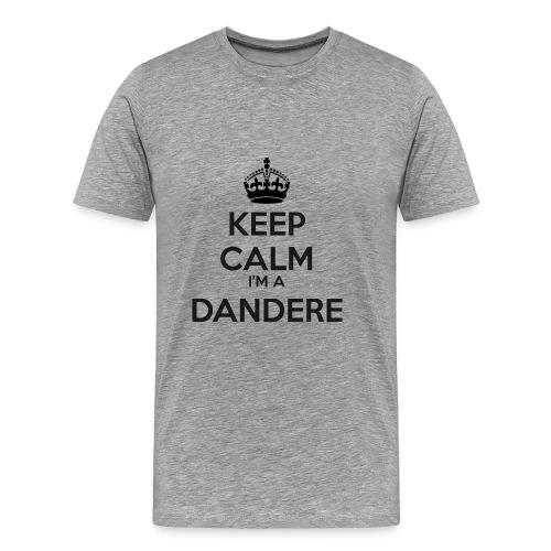 Dandere keep calm - Men's Premium T-Shirt