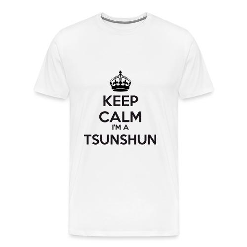 Tsunshun keep calm - Men's Premium T-Shirt