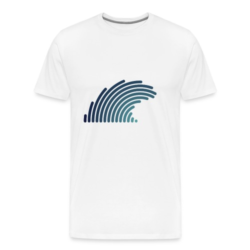 Blue Wave - T-shirt Premium Homme