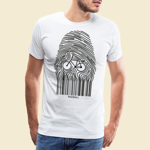 Radball   Fingerprint - Männer Premium T-Shirt