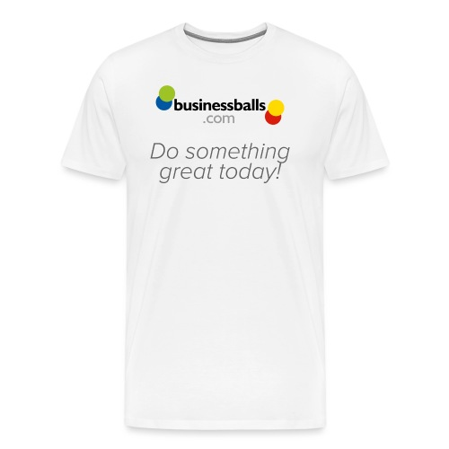 Logo 3 Tshirt1 - Men's Premium T-Shirt