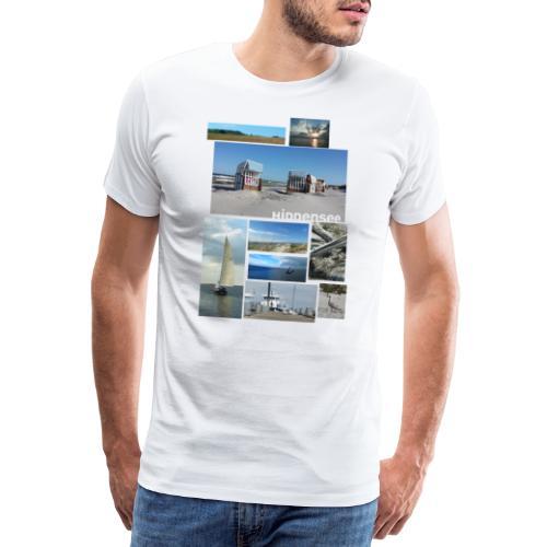 Hiddenseecollage Farbe - Männer Premium T-Shirt