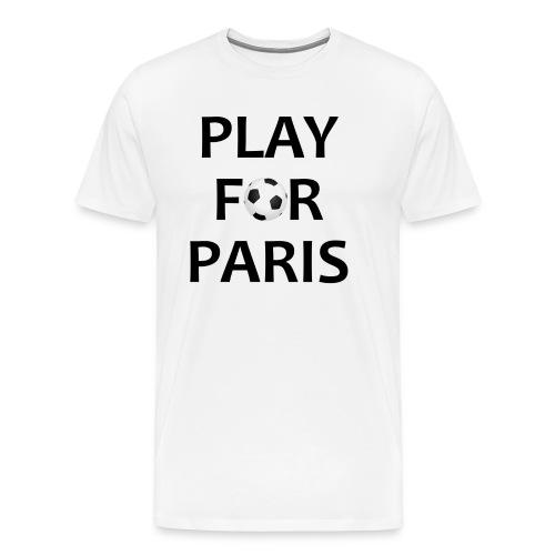 Football Shirt Play for Paris retro - Men's Premium T-Shirt
