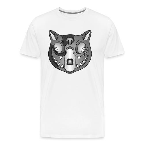 Acid Cat B / W - Men's Premium T-Shirt