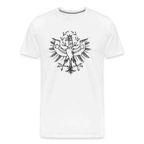 ADLER Gurgltaler Mander png - Männer Premium T-Shirt