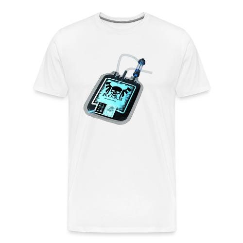 Plasma noir - T-shirt Premium Homme