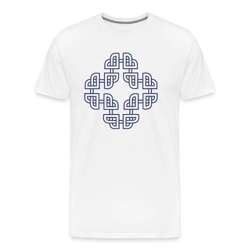 Norse - Navy blue - Premium T-skjorte for menn