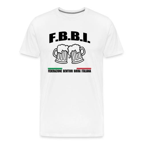 FBBI LOGO NERO - Maglietta Premium da uomo