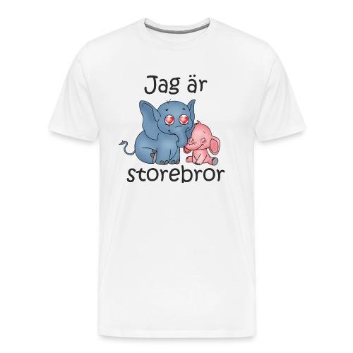 Jag ar storebror 2B - Premium-T-shirt herr