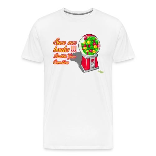 BUBBLE GUM suce mes boules png - T-shirt Premium Homme