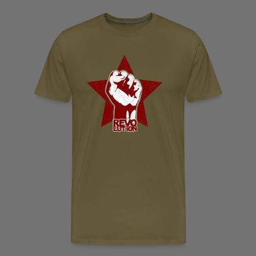 Revolution (oldstyle) - Miesten premium t-paita
