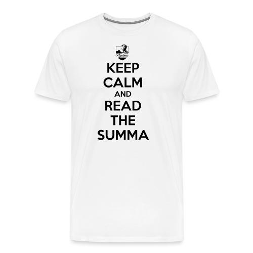 Keep Calm Thomiste - Männer Premium T-Shirt