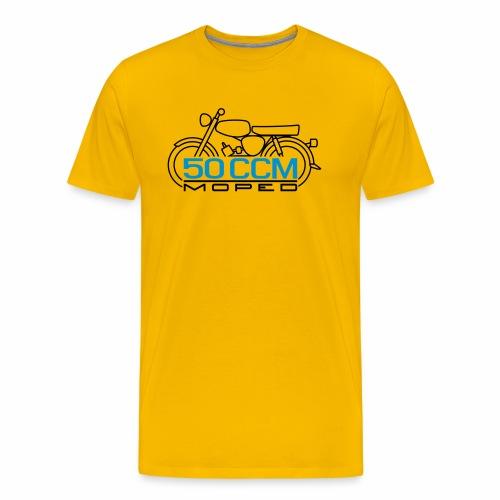 Scooter S50 50 ccm emblem - Men's Premium T-Shirt