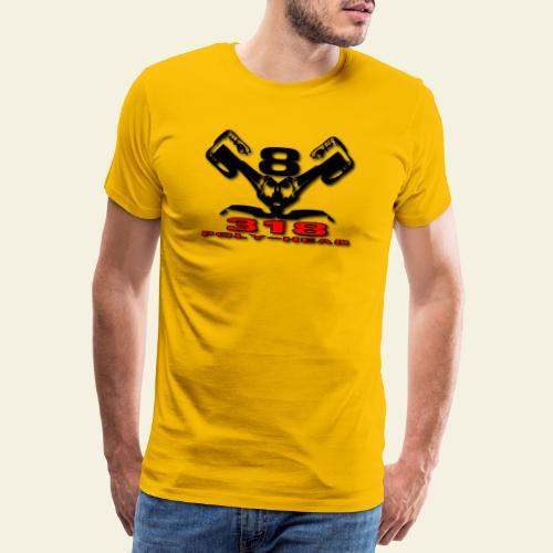318p v8 - Herre premium T-shirt