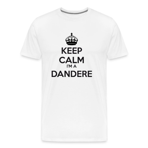 Dandere keep calm - Men's Premium T-Shirt