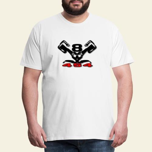 454 v8 - Herre premium T-shirt