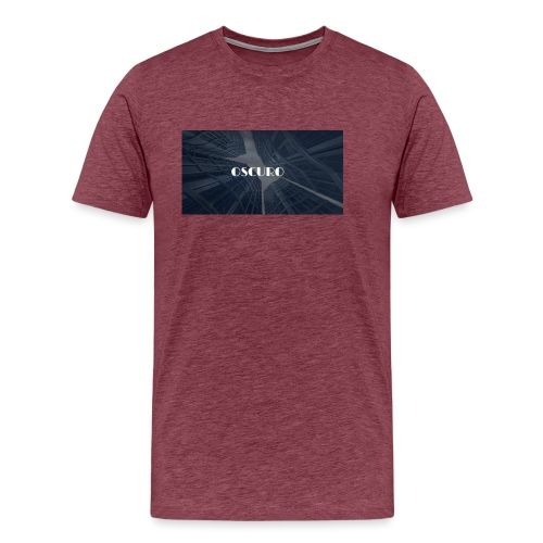 COPERTINA ALBUM OSCURO - Maglietta Premium da uomo