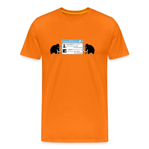 homo-sapiens et néandertal - T-shirt Premium Homme