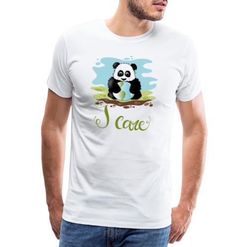 iCare - Maglietta Premium da uomo