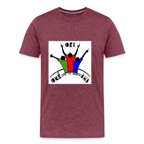HIB02 jpg - Mannen Premium T-shirt