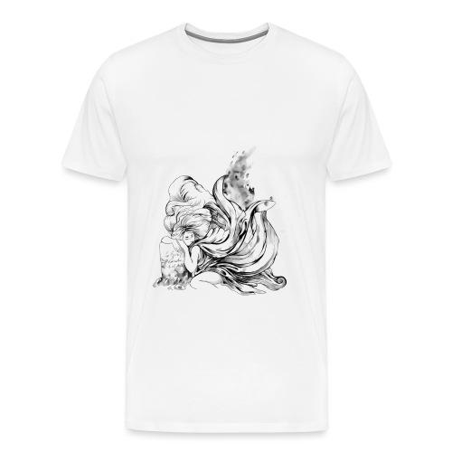 rip BW - Camiseta premium hombre