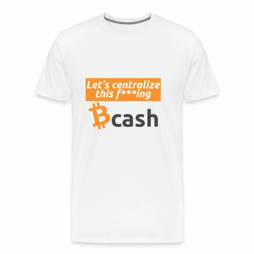 Bcash centralized - Maglietta Premium da uomo