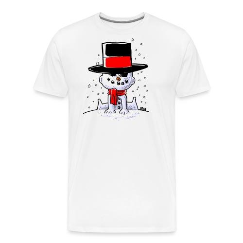 snowbaby hat - Mannen Premium T-shirt