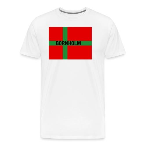 BORNHOLM - Herre premium T-shirt