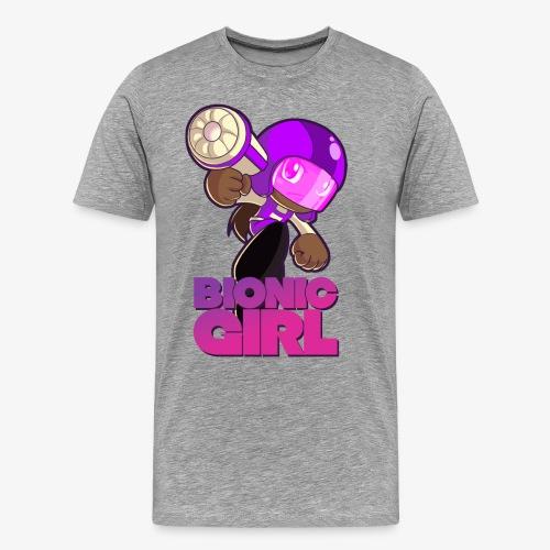BG tshirt png - Premium-T-shirt herr