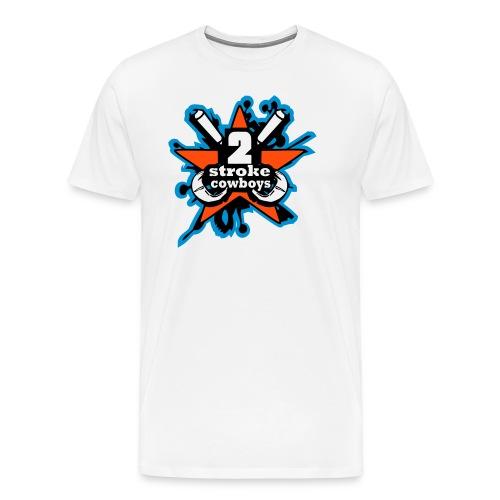 2_sc_logo_bunt_END - Männer Premium T-Shirt