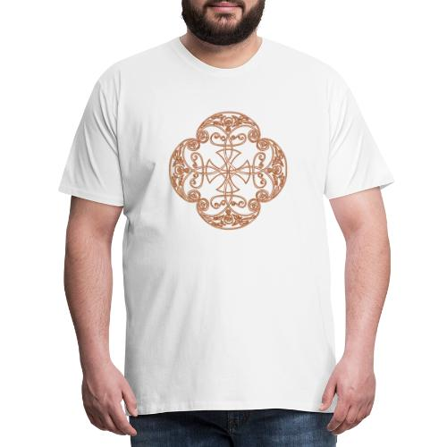Anglian gold (Mellowed) - Men's Premium T-Shirt
