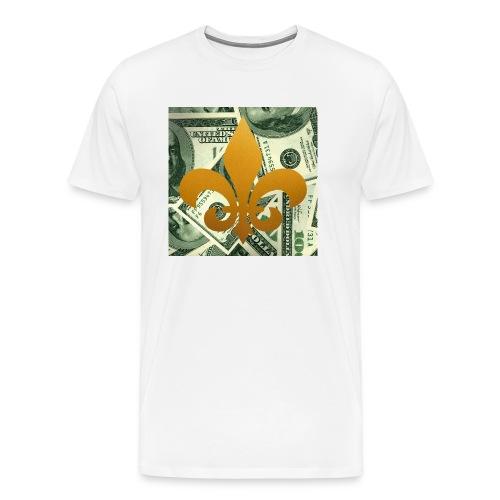 DonBehavior's fleur de lis - Men's Premium T-Shirt