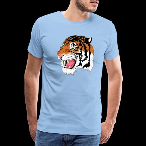 Sumatra Tiger - Männer Premium T-Shirt
