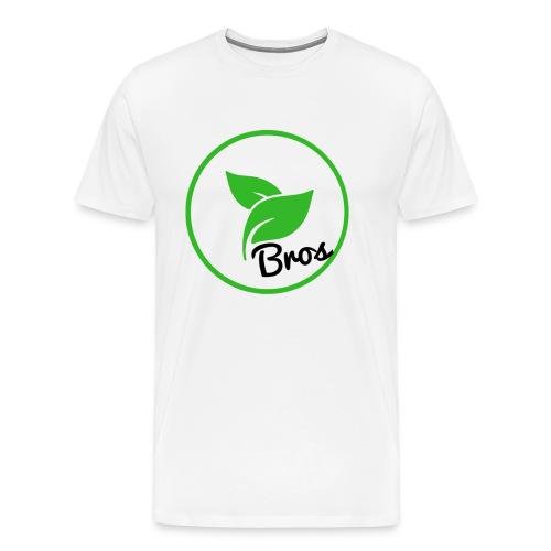 Twin Bros (Large Logo) - Men's Premium T-Shirt