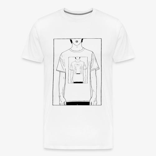 Recursion | Loop | Repeat design | Be creative - Men's Premium T-Shirt