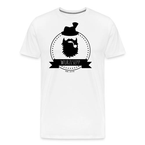 Wurzlsepp Logo - Männer Premium T-Shirt