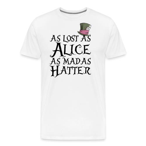 as lost as Alice - Maglietta Premium da uomo