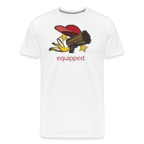 equipped. - Männer Premium T-Shirt