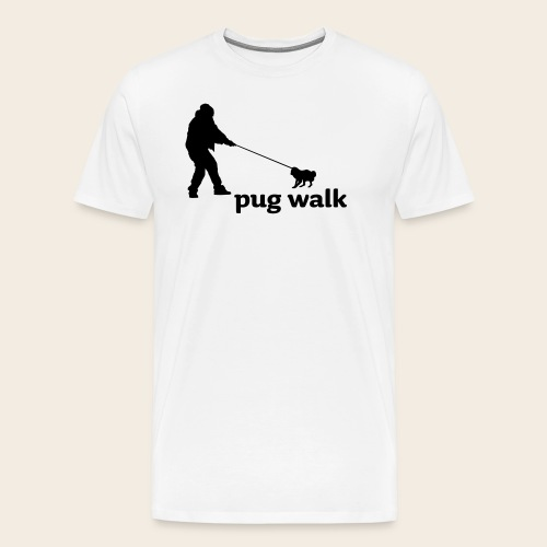 pugwalk2 - Männer Premium T-Shirt