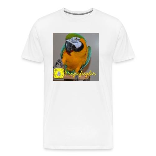 Zoey - Premium T-skjorte for menn