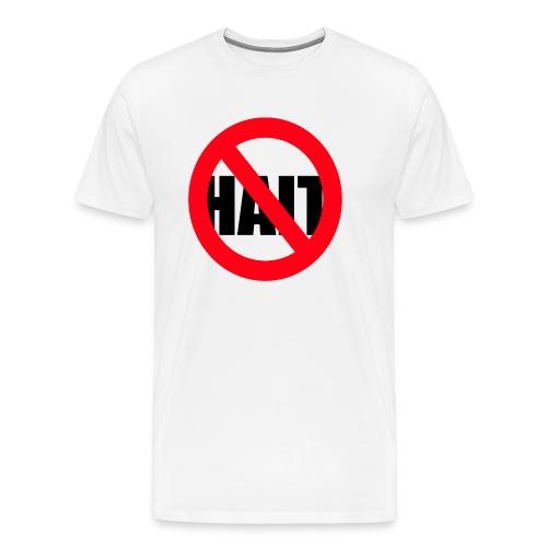 crossed over HAIT - Premium-T-shirt herr
