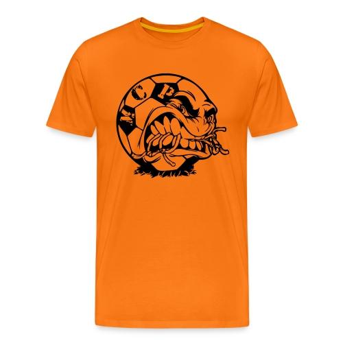 fussball vektor - Männer Premium T-Shirt