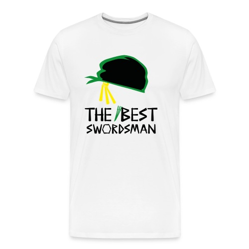 op rorano zorro the best swordsman bt - Männer Premium T-Shirt