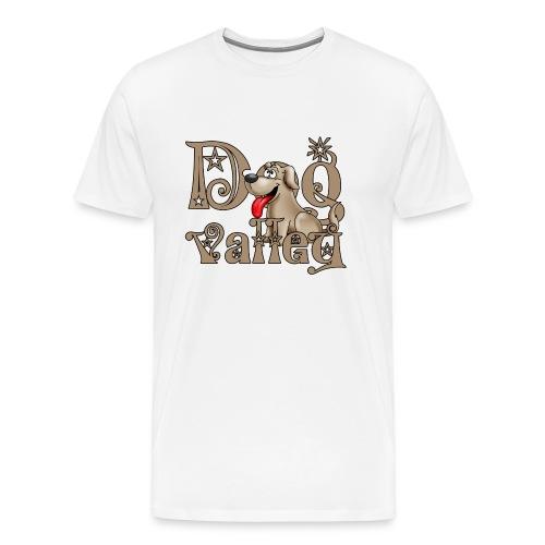 dogvalley - Premium T-skjorte for menn