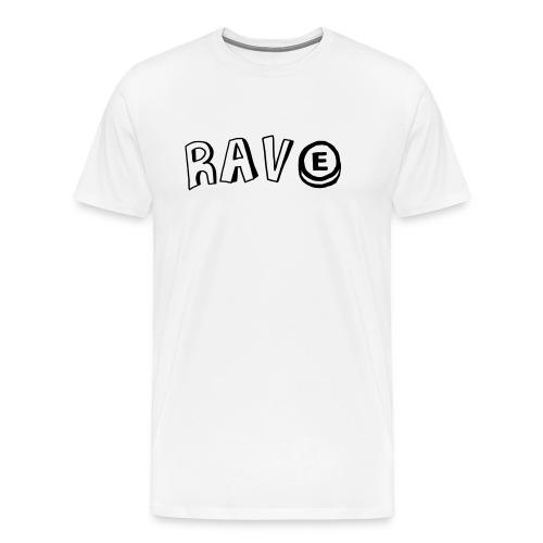 Rave E - Men's Premium T-Shirt