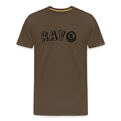 Rave E - Men's Premium T-Shirt