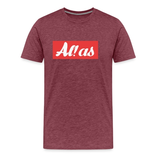 Al!as - Herre premium T-shirt