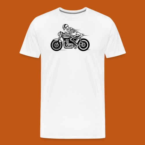Cafe Racer Motorrad 05_schwarz - Männer Premium T-Shirt