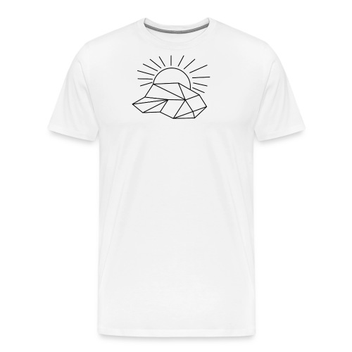 Sonne Wolke - Männer Premium T-Shirt