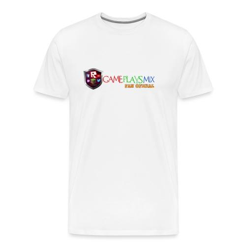 VENTILADOR DE LOGOTIPO png - Camiseta premium hombre